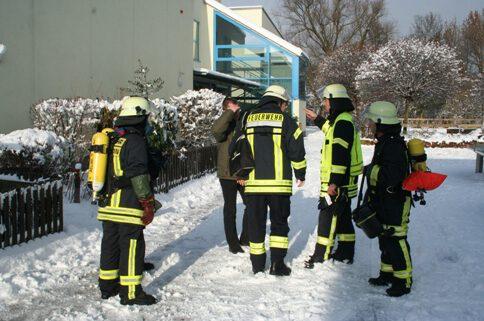 Feuerwehr Einsatz Chloraustritt am 9.12.2010 in Kahl am Main