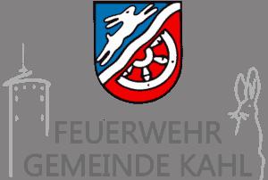 Feuerwehr Gemeinde Kahl - Logo - Footer